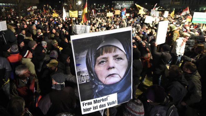 Nestrpnost straši po Evropi
